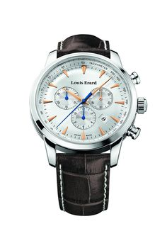 Louis Erard Heritage Collection Swiss Quartz Silver Dial Men's Watch 13900AA11.BDC101 *** Continue to the product at the image link.
