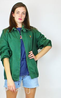 Vintage Polo Ralph Lauren Chaps Bomber Harring... - SilkFred