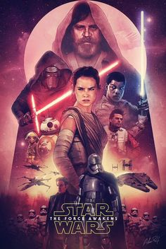 Star Wars VII: The Force Awakens (fan poster)