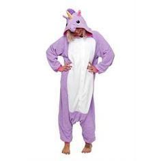 CHEMISE DE NUIT New Cosplay Pyjama Pyjama Kigurumi Licorne Violett