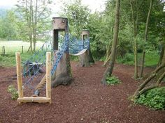 "Children playground Design for an into nature inserted ""Kids Play Corner"" Nature children playground - the tree elemts are the attraction of..."