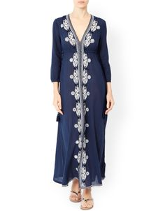 Willow Beach Robe Maxi Dress