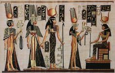 Pics Photos - The Egyptian Goddess Hathor Ancient Egypt Art, Ancient Artifacts, Ancient History, Egyptian Mythology, Egyptian Goddess, Egyptian Queen, Egyptian Art, Egyptian Tattoo, African History