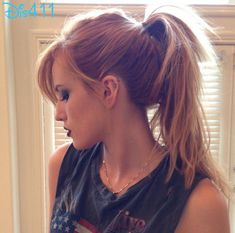 "Photo: Bella Thorne Trying Out Hair And Makeup For ""Amityville"" Role March 23, 2014"