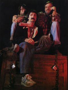 Masters of Horror Unite! Stephen King, Tom Savini George Romero on the set of Creepshow. Horror Icons, Sci Fi Horror, Horror Films, Horror Posters, Horror Fiction, Horror Art, Movie Posters, Space Ghost, Akira