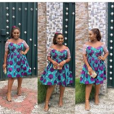 Hi dearies, today we have beautiful trending ankara styles that you need to stay classy and admirable. This collection we give you inspiration on what to sew Short African Dresses, Short Gowns, African Fashion Dresses, Ghanaian Fashion, Ankara Fashion, Fashion Outfits, African Fashion Designers, African Inspired Fashion, Africa Fashion