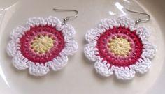 crochet earrings   Tumblr