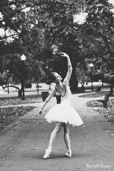 Dancer - Hannah Keene. Location - Boston Public Garden. Boston, Massachusetts.