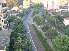 Uma das principais avenidas da cidade: a Astolfo Dutra.