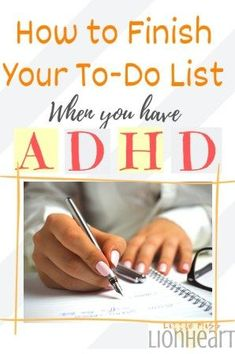Learning how to stay on task with ADHD seems like an uphill battle especially when your ADHD and not finishing projects. Learn how to prioritize tasks and time management strategies to conquer your to do list and master how to finish things with ADHD! Adhd Strategies, Time Management Strategies, Behaviour Management, Stress Management, Behavior, Adhd Facts, Adhd Odd, Pseudo Science, Adhd Help