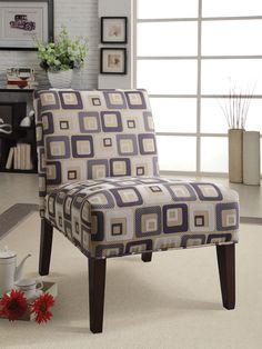 Aberly Espresso Accent Chair 59153