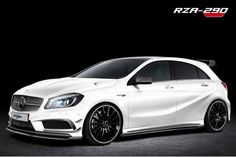 Mercedes Clase A A250 RZA-290 RevoZport: http://autosmix.com/mercedes-benz-clase-a-rza-290-revozport/