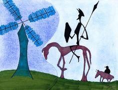Mars Di Alein: abril 2011. Don Quijote de la Mancha.