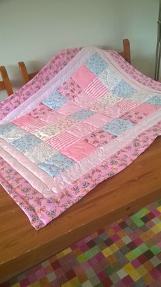 30 Minute Baby Quilt Diy Baby Shower Baby Quilts Baby