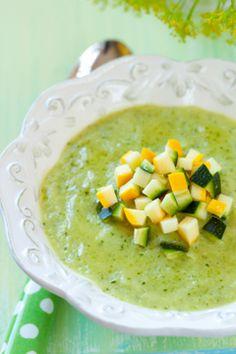 Gezond recept voor smaakvolle gegrilde courgettesoep