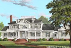 House Plan 7922-00109 - Country Plan: 5,564 Square Feet, 4 Bedrooms, 5 Bathrooms