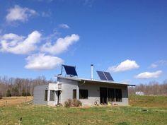 Net Zero Off Grid Modern Prefab Springs Into Spring