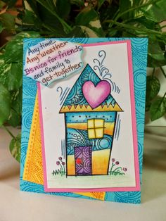 #StampThis- New PenPattern designs from #Stampendous.  So much fun to stamp and doodle! #cre8time
