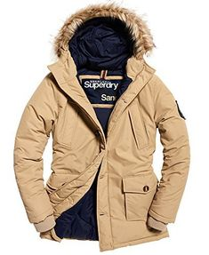2a92fd048c4f Parka Style, Jacket Style, Superdry Mens, Beige Coat, Lightweight Jacket,  Fur