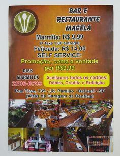 19 September 2016 (18:03) / Delivery from Magela Restaurante, Barueri City, São Paulo.