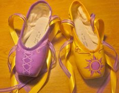 Tangled Pointe shoes.