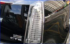 This is called a bevel, it's a grill overlay for the lights and includes chrome access pieces.  It looks stunning on a CTS!  Found the pieces separately on Amazon but not for my model year, Kelly Cadillac has it for $800.  A spurge but someday! mdb