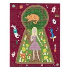 Alice (Fairy Tale Fashion Series 4) Jigsaw Puzzle - cat cats kitten kitty pet love pussy
