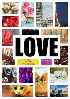 All the things I love!!!