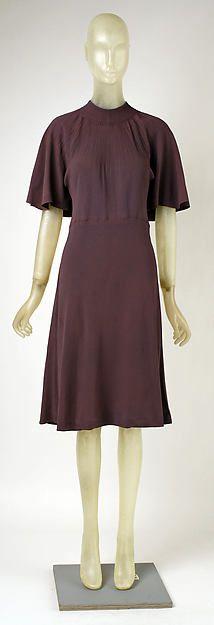 Wedding dress (image 1) | Madeleine Vionnet | French | 1938 | silk | Metropolitan Museum of Art | Accession Number: 1979.344.7
