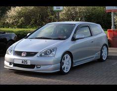 Satin Silver Honda Civic EP3