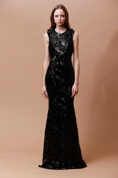Badgley Mischka pre-fall 2014. Again very dressy,love the detailing on the dress. i can see that sparkle is an on going theme in the new collection.      ✾Georgia✾