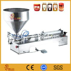 Single Head Ointment Filling Machine (TOSCF500-1B) - China Cream Filling Machine, THE ONE