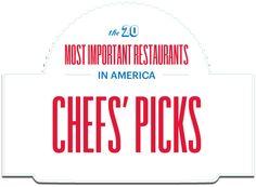 Chefs Pick Top Restaurants: The Bon Appetit Foodist