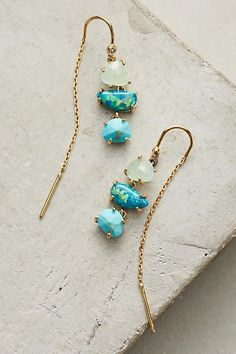 Gorgeous! Anthropologie Warm Tide Earrings #anthropologie #anthrofave #anthrohome #jewelry #earrings #giftsforher #ad