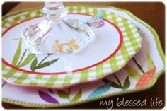 DIY Tiered Plate Stand {Tutorial} — My Blessed Life™
