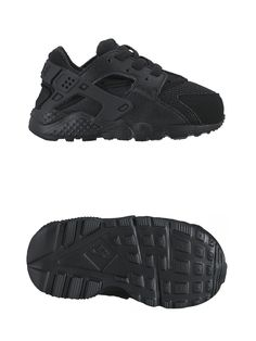24a03bcfaed Baby Shoes 147285  New Nike Huarache Run 704950 016 Td Toddler And Infant Black  Running