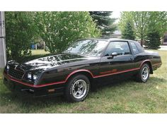 Monte Carlo SS with T-tops. I wanted this car sooo bad in highschool, this exact car but w t-tops....it had to have t-tops :)