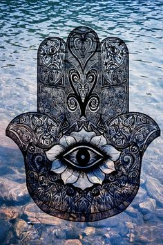 Lucky eye and water