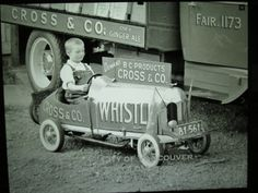 Whistle brand soda co.promotional  pedal car