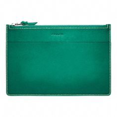 I want this! What a beautiful small leather portfolio ~