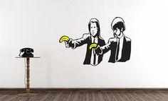 Banksy Wall Decals from WallsNeedLove