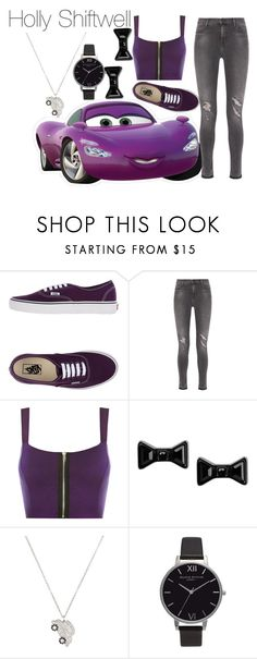 """""""Holly  Shiftwell"""" by indianna28-2002 ❤ liked on Polyvore featuring Verso, Vans, J Brand, WearAll, Marc by Marc Jacobs, Nigaam and Olivia Burton"""