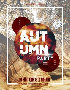 Autumn Party Free Flyer Template - http://freepsdflyer.com/autumn-party-free-flyer-template/ Enjoy downloading the Autumn Party Free Flyer Template created by Elegantflyer!   #Autumn, #Club, #Dance, #Event, #Fall, #Fest, #Festival, #Music, #Nightclub, #Nigthclub, #Party