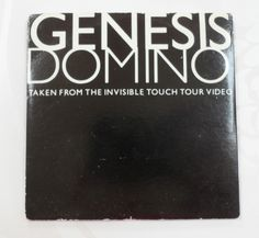 Genesis Domino 2 Track Three Inch Mini CD Promotional Card Sleeve Vintage
