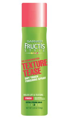 20 amazing drugstore beauty products you DON'T already know about: Garnier Fructis hair texture tease