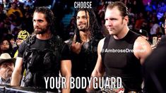 I want to choose 2... I choose Dean and Roman... but mostly Roman <3<3<3