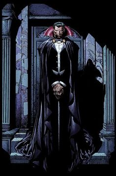 "Dracula ( Count Vlad Tepes Dracula aliases;   Count Dracula, Justin Drake, Dr. Vlad, Vlad III the Impaler, Dagon, Count Orlok, Alucard, Dondora) (Human/Vampire) (Schassburg, Transylvania) Lord of vampires; former prince of Transylvania and Wallachia. Superhuman strength, speed, stamina, agility, reflexes. Regenerative healing factor. Weather control. Shape-Shifting. Mind control. Ability to defy gravity. Telepathy. Immortality. Skilled swordsman, hand-to-hand combatant. 6' 5"" tall."