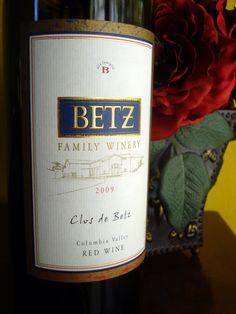 2009 Betz Family Winery Clos de Betz Columbia Valley Red Wine