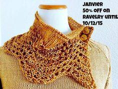 50% off new Janvier pattern on ravelry! www.ravelry.com