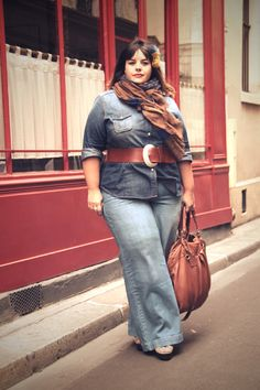 Stephanie Zwicky - could be the Jocasi moon belt we stock. Plus size fashion tips